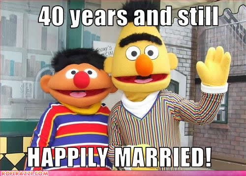 celebrity-pictures-ernie-bert-happily-married
